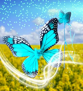 Turquoise More Colors. Select Color Monarch Butterfly Wing /& Wand Set