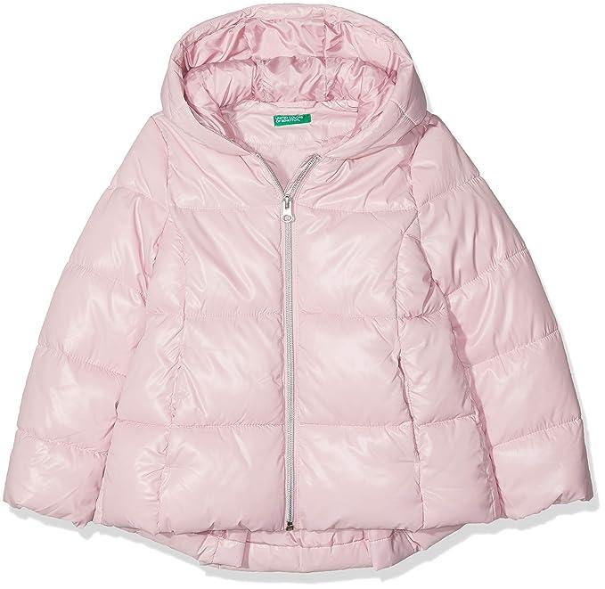 United Colors of Benetton Jacket, Chaqueta para Niñas, Rosa (Pink 09j) 134