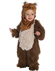 Star Wars Classic Ewok Deluxe Plush Costume Romper, Toddler