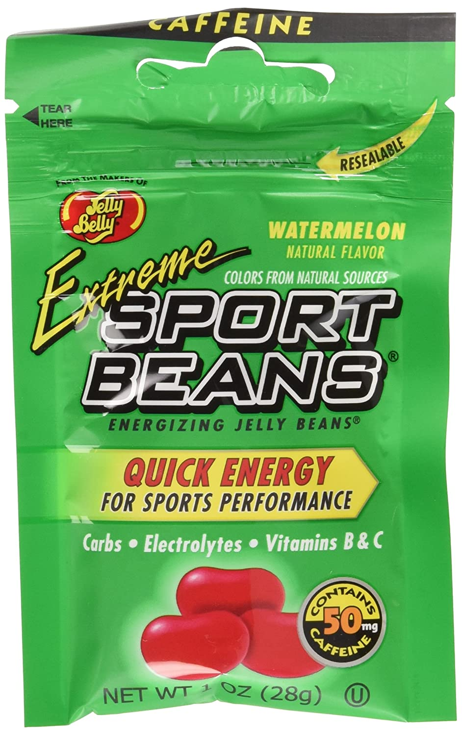 Extreme Sports Beans Jelly Belly Watermelon 24 pack