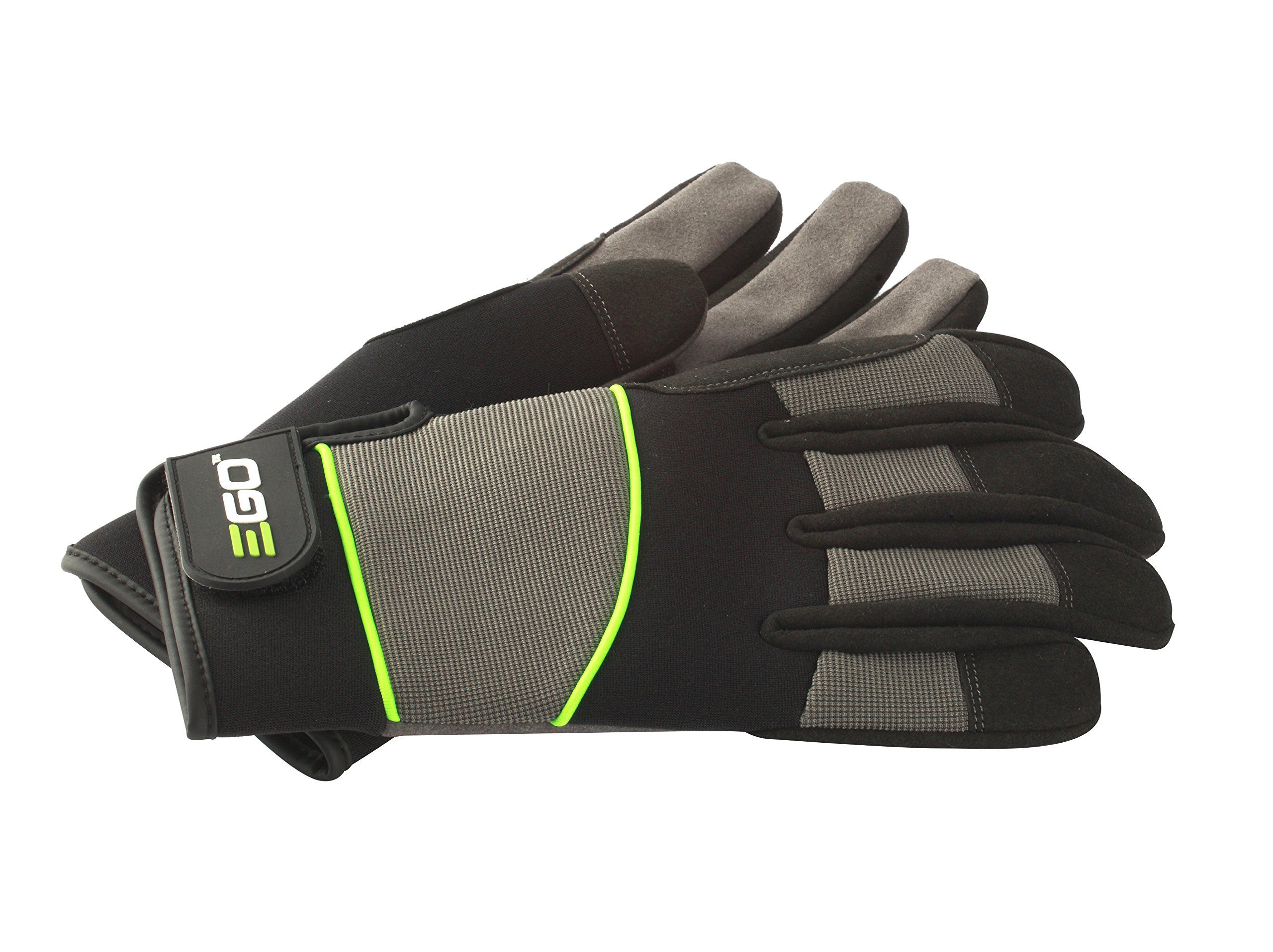 EGO Power+ GV001M Durable Synthetic Breathable Work Gloves with Reinforced Protection, Medium