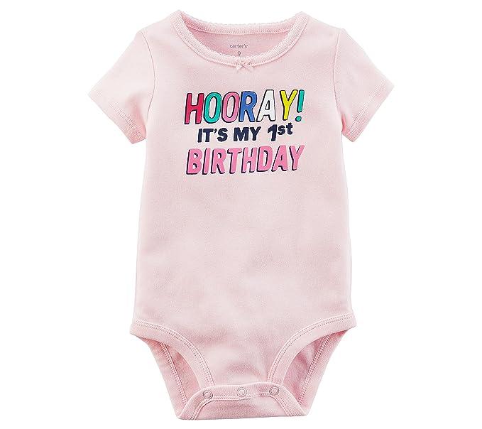 Amazon.com: De Carter bebé Niñas 1er Cumpleaños Collectible ...