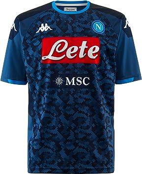 SSC NAPOLI Réplica de Camiseta de Segunda equipación de Portero ...