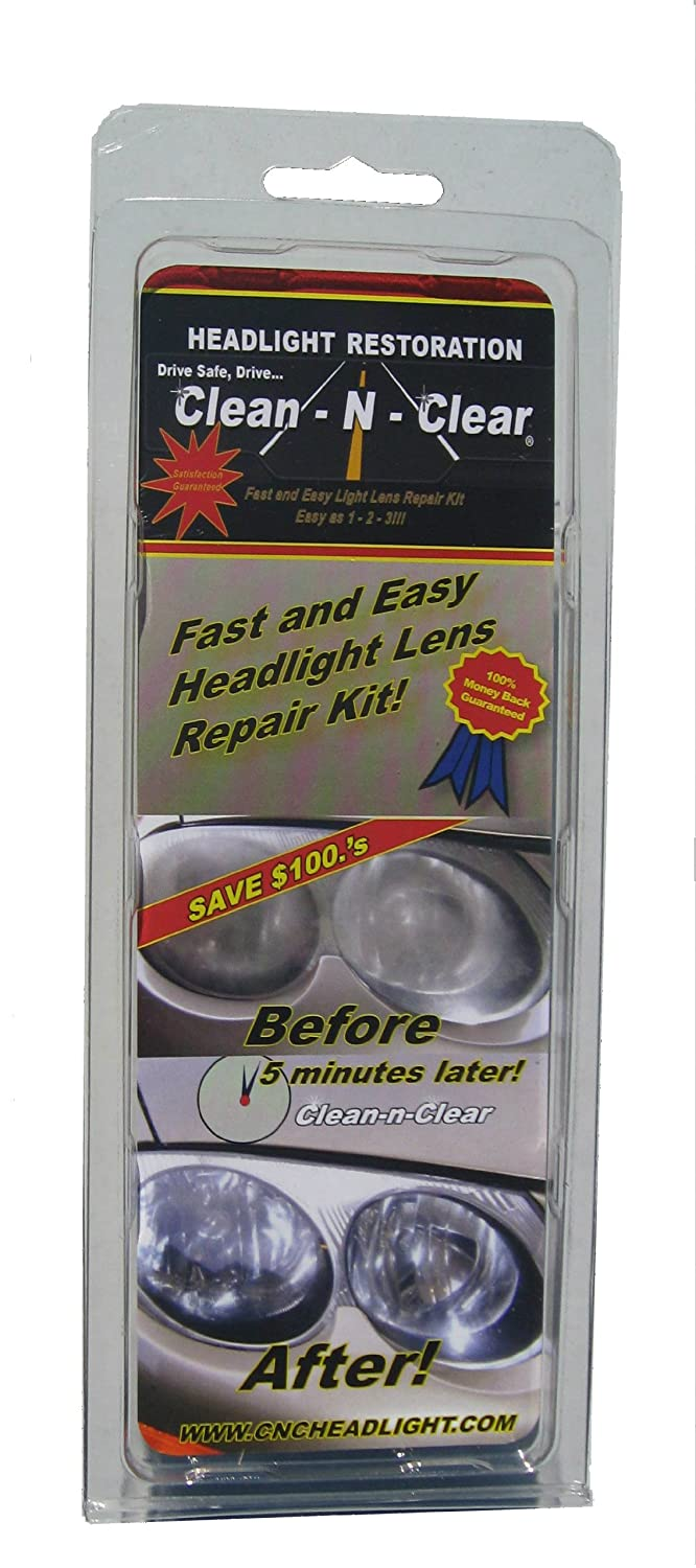 how to get plastic headlights clear again