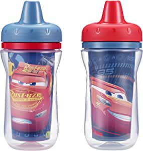 The First Years Cars Insulated Sippy Cups, Pack of 2