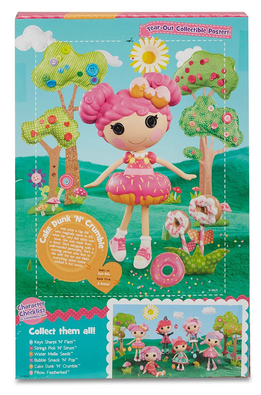 Amazon.com: Lalaloopsy Large Doll- Cake Dunk \'N\' Crumble: Toys & Games
