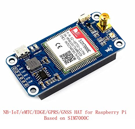 Amazon Com Pzsmocn Nb Iot Emtc Edge Gprs Gnss Hat Module Based On