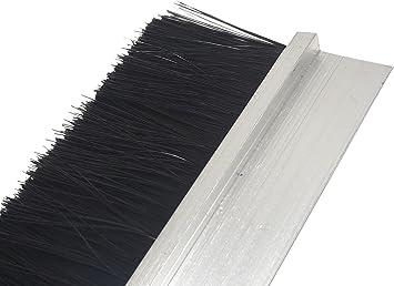 cepillo Junta 90 cm de aluminio H de perfil Burlete mosca Junta Persianas: Amazon.es: Bricolaje y herramientas