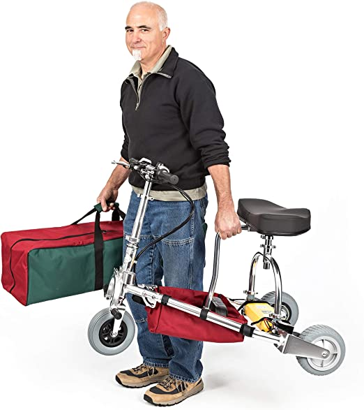 TravelScoot: Worlds Lightest and Strongest Mobility Scooter 35 lbs Airline-Approved (350 lb. Weight Limit) 2-Year Warranty