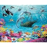 Walltastic Sea Adventure Wallpaper Mural, Multi-Colour