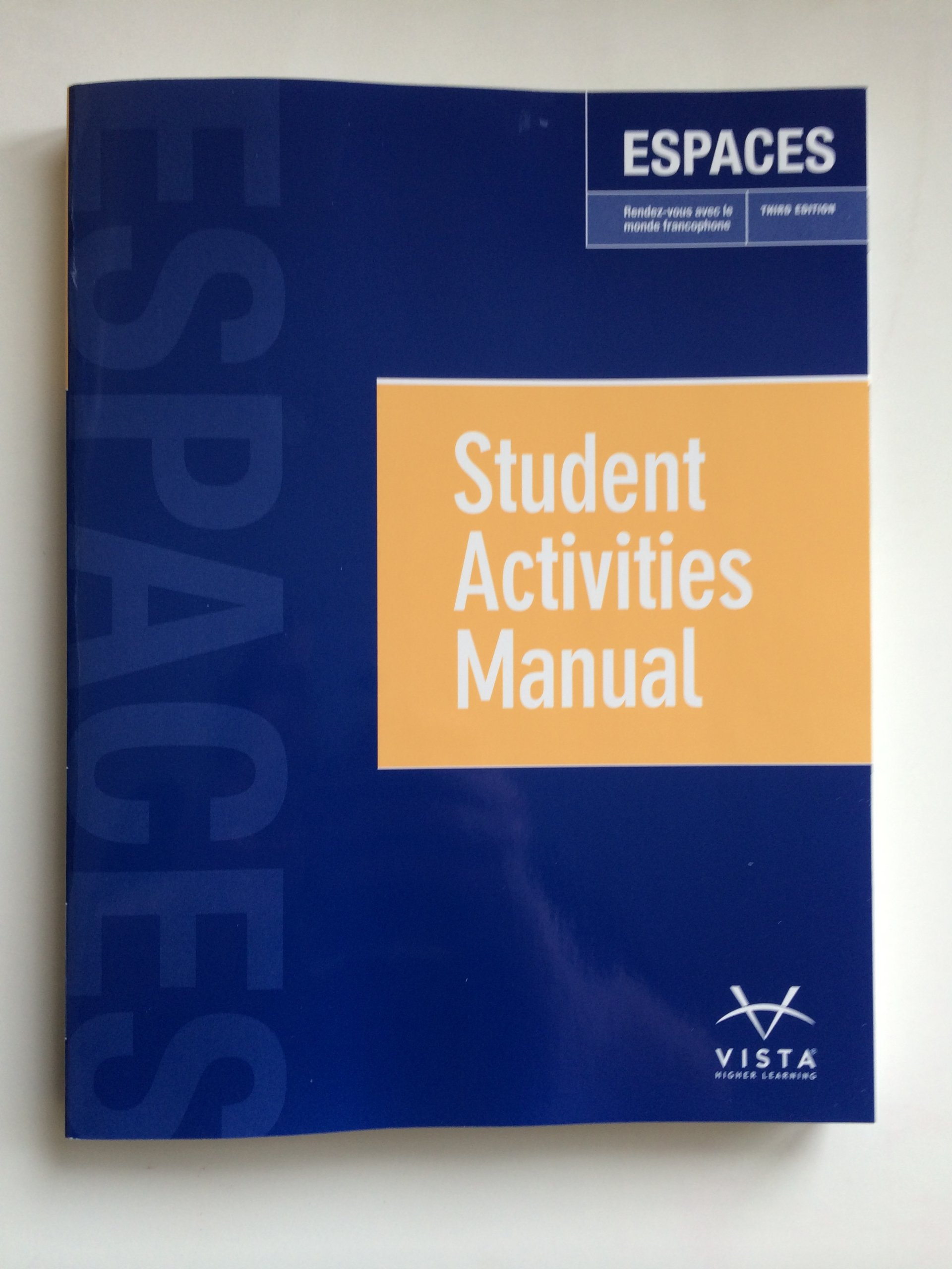 Espaces student manual vhl 9781626800366 amazon books fandeluxe Choice Image