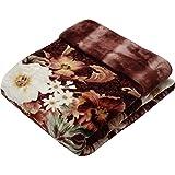 京都西川 毛布 ピンク ダブル 180×210㎝ 日本製合わせ毛布 洗える ダブルサイズ アクリル ファー 2K2603D