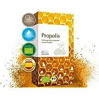 MEDICOM Bio Propolis Kapseln • biozertifiziert mit 400 mg gereinigter Bio Propolis pro Kapsel • reine Bienenkraft - 60 Stk