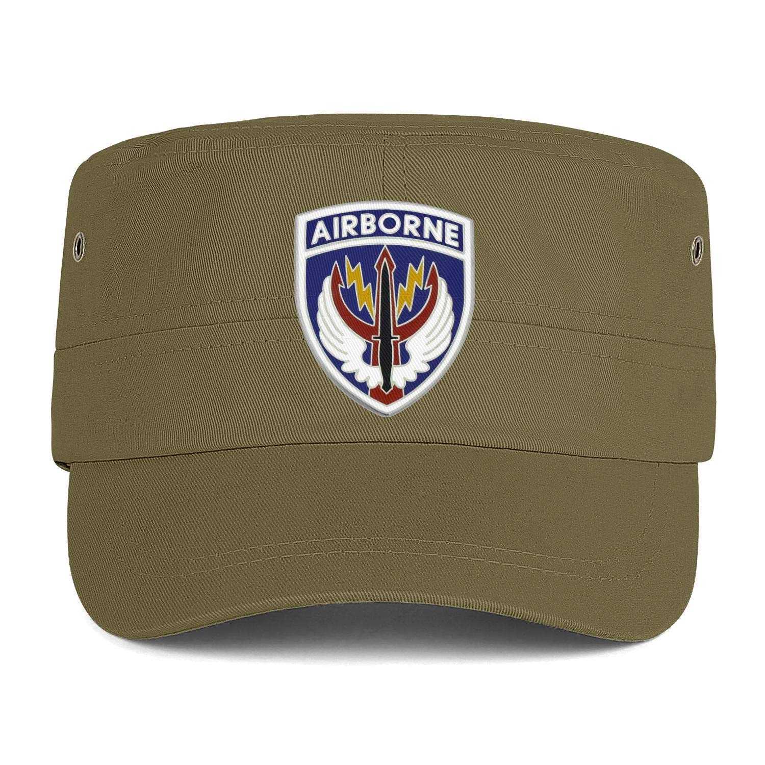 Special Operations Command Central Logos Army Cap Cadet Corps Hat Military Flat Top Adjustable Baseball Cap Cotton
