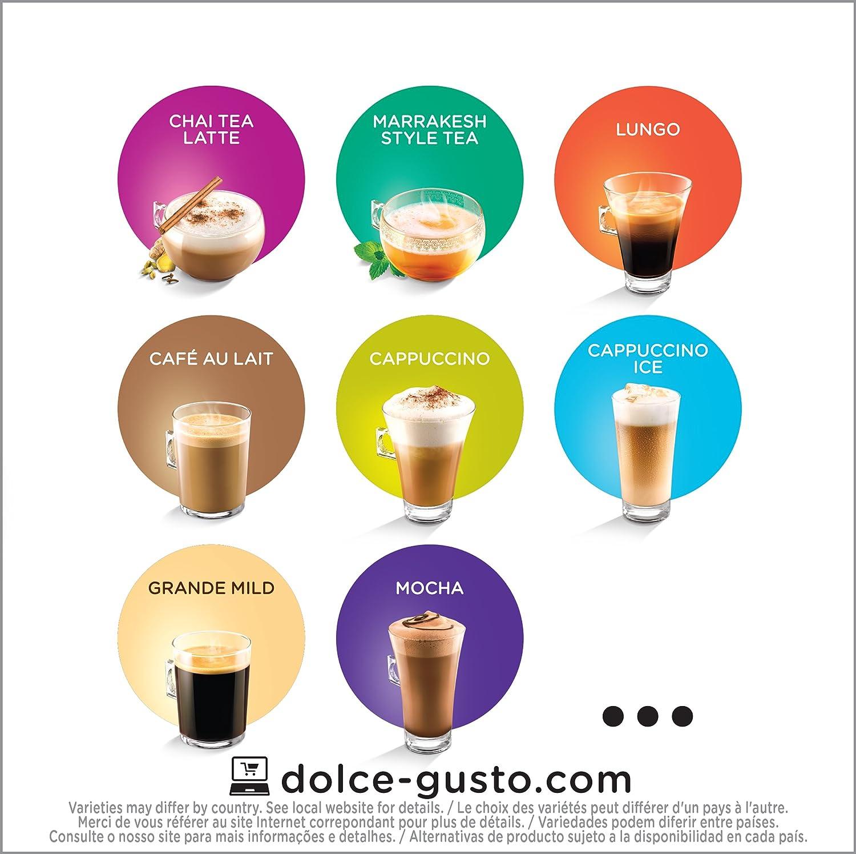 Nescafe Dolce Gusto for Nescafe Dolce Gusto Brewers, Cafe Americano, 48 Count: Amazon.es: Alimentación y bebidas