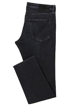 ae3d81dc6 Amazon.com: Hugo Boss Men's Regular-fit Cashmere-Touch Black Denim ...