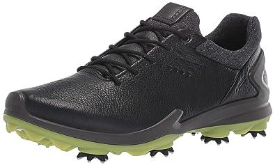 b9a96e4a ECCO Men's Biom G3 Gore-TEX Golf Shoe, Black Yak Leather, ...