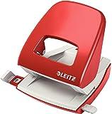 Leitz NeXXt 50081001 - Perforadora (2 agujeros), 30 hojas de capacidad, Rojo,