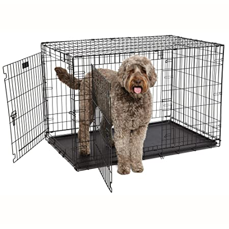 Midwest Products Co. 48 Contour DBL Door Dog Crate