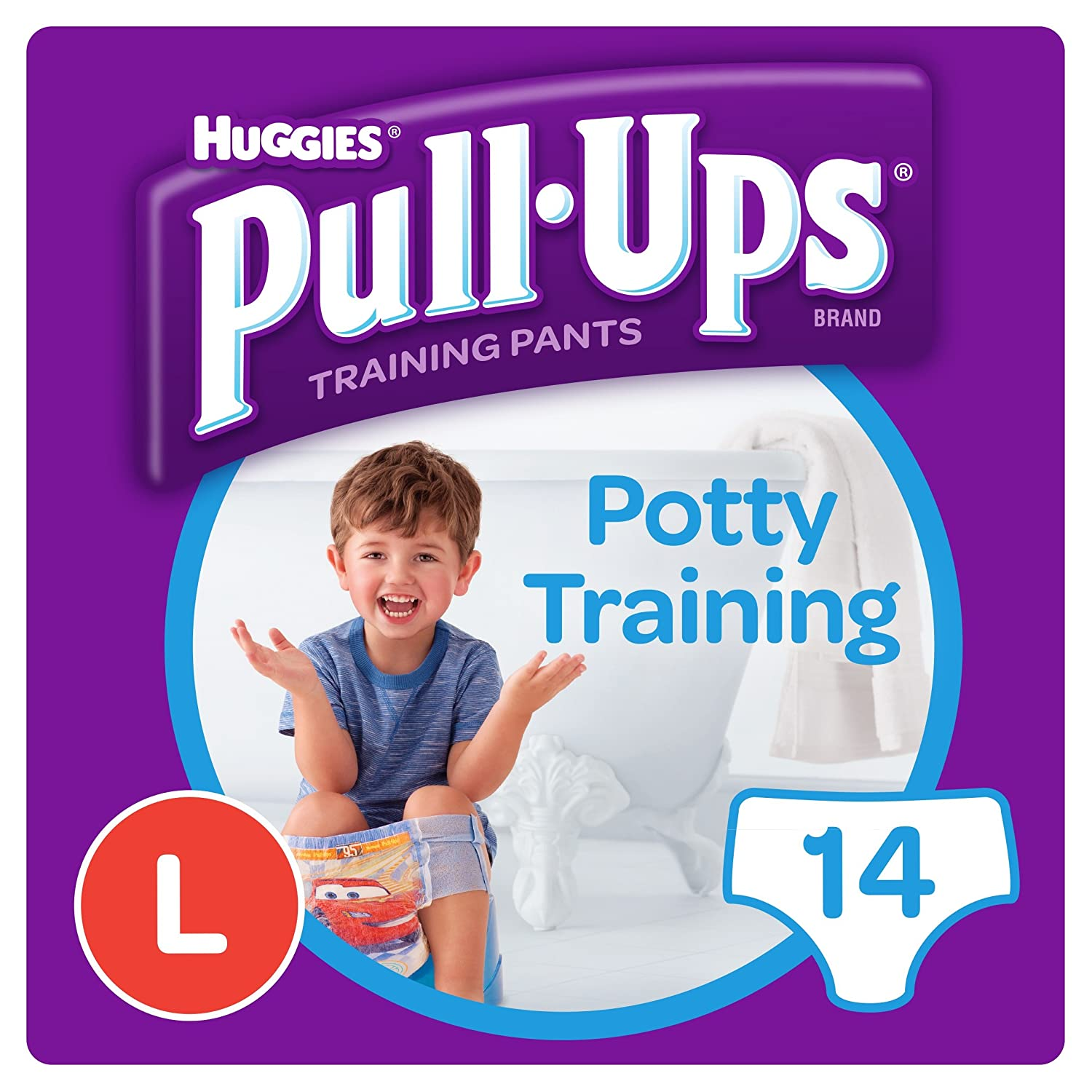 Huggies Pull-Ups Day Time Large Potty Training Pants for Boys L0892015-P109160948-M109160930