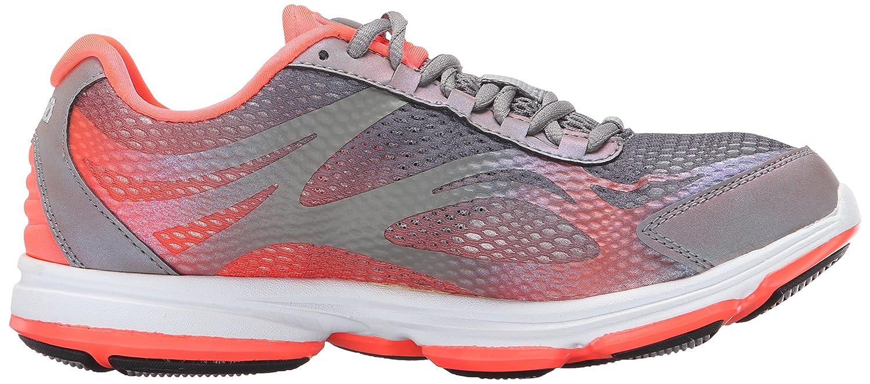 Ryka Women's Devo Plus 2 Walking Shoe B01A62UQTQ 10 B(M) US|Grey/Coral