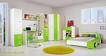 Einzelbett kinder  Amazon.de: Kinder Klassisch Möbel Set. Zusammensetzung LABYRINTH ...