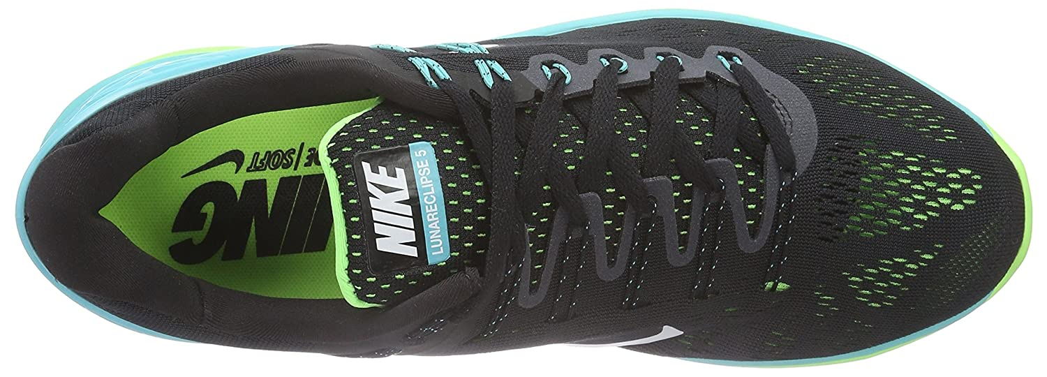 Nike Men's Lunareclipse 5 Running Shoe Black Size: 8 UK: Amazon.co.uk:  Shoes & Bags