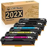 CMYBabee Compatible Toner Cartridges Replacement for HP 202X HP CF500X for HP Laserjet Pro M281fdw M281cdw M254dw M254dn…