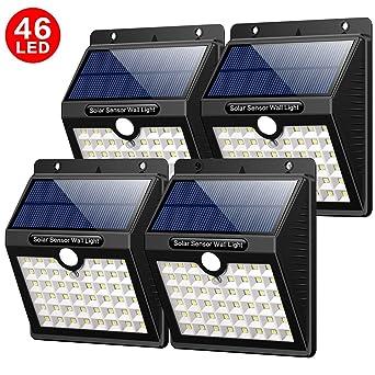 Yacikos Solarleuchten Außen 46 Led Solarlampen Für Außen Mit