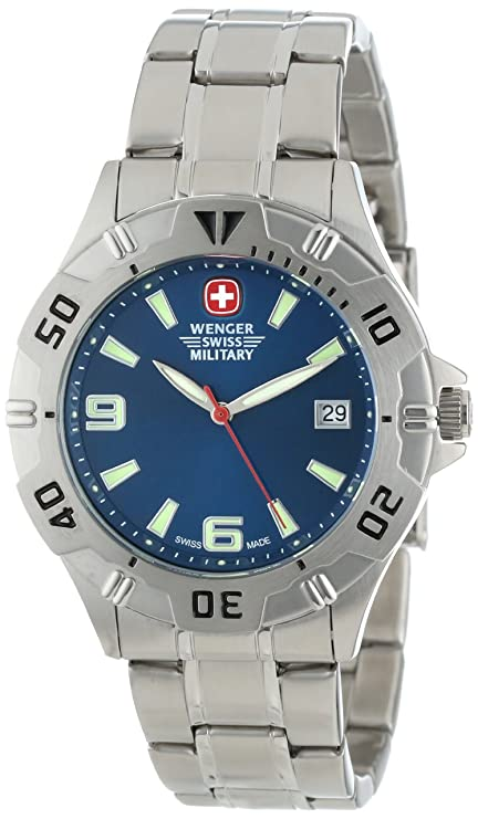 Wenger Swiss Military Men's 72948 Brigade Military Stainless Steel Watch