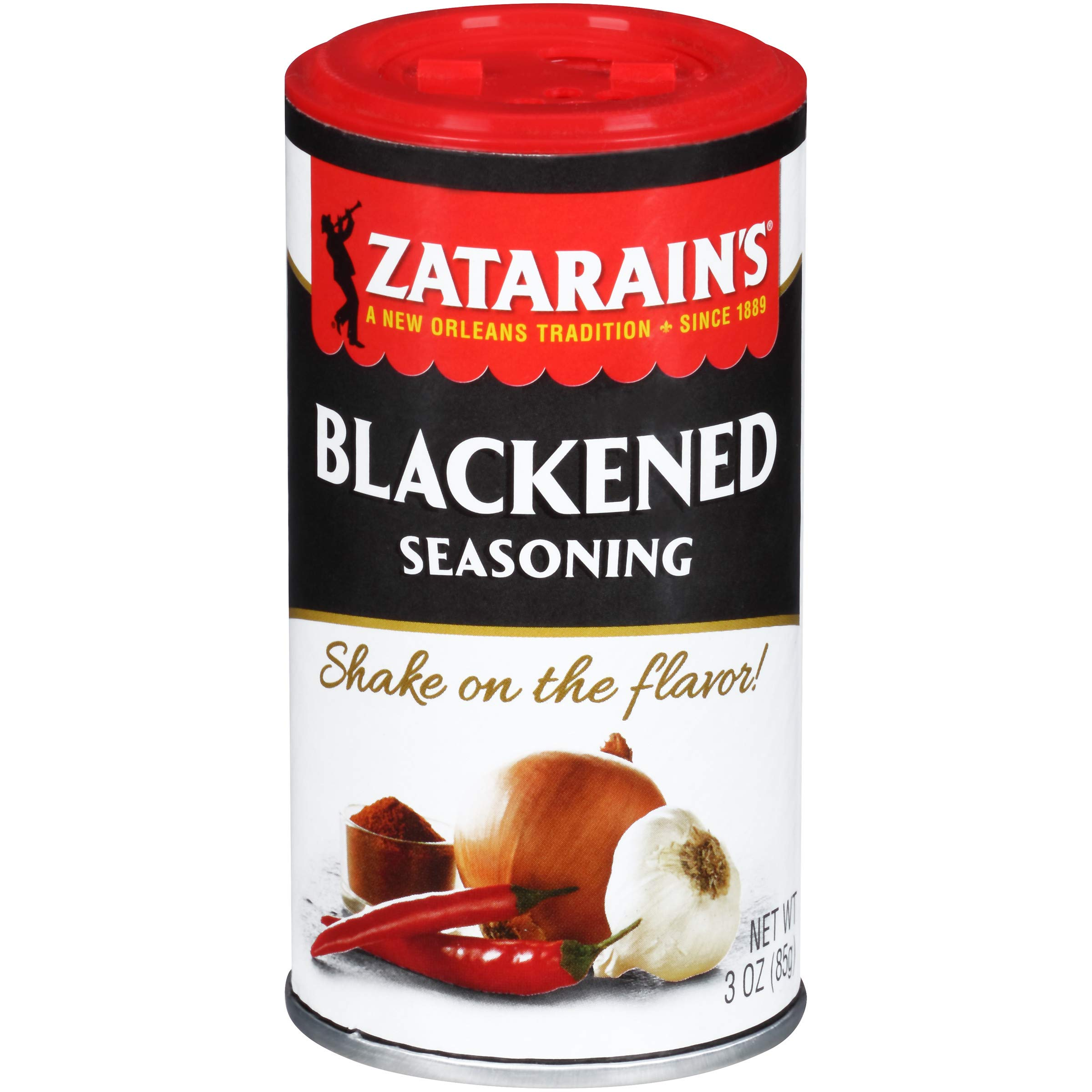 Zatarain's New Orleans Style Blackened Seasoning, 3 oz
