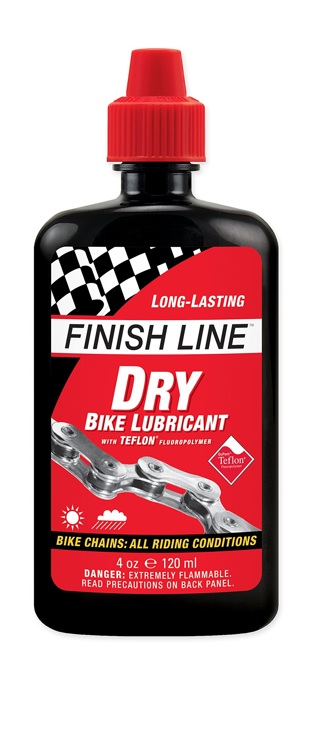 Finish Line DRY Teflon Bicycle Chain Lube product image