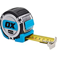 OX Tools P028705 Pro Heavy Duty Metric/Imperial 5m tape measure, Multi-Colour