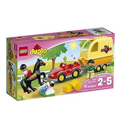 LEGO DUPLO Horse Trailer 10807: Toys & Games