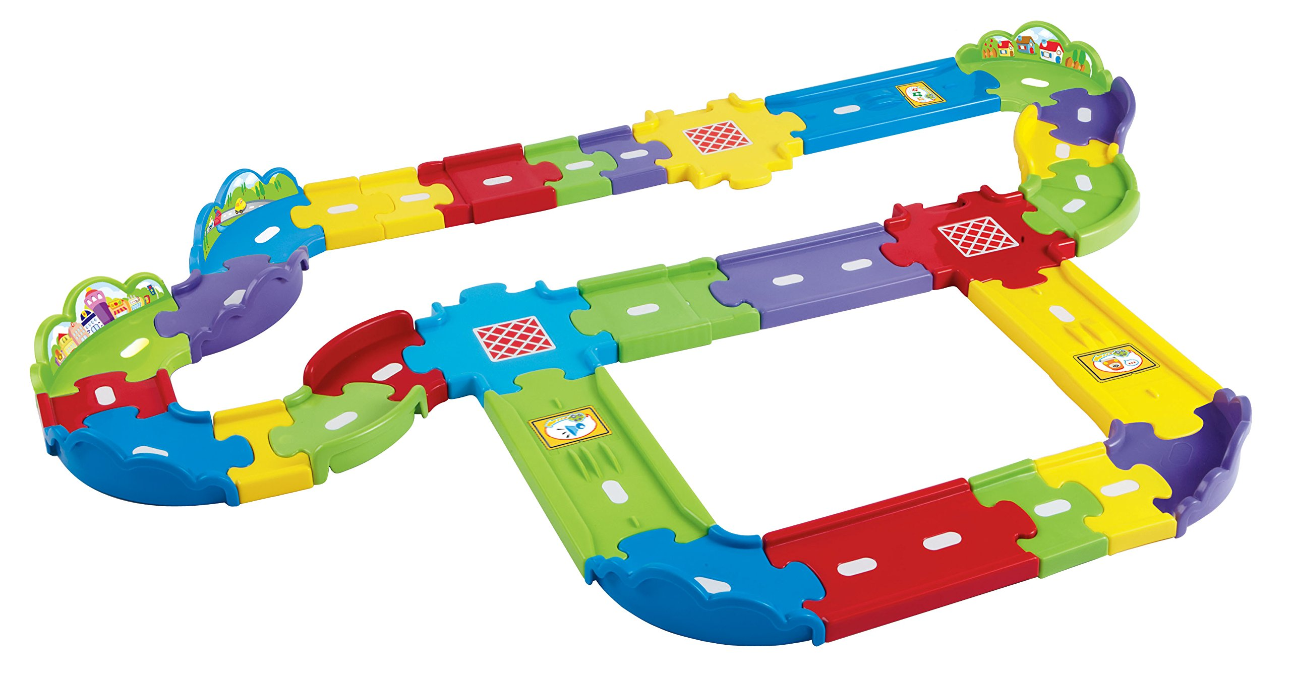 VTech Go! Go! Smart Wheels Deluxe Track Playset by VTech (Image #1)
