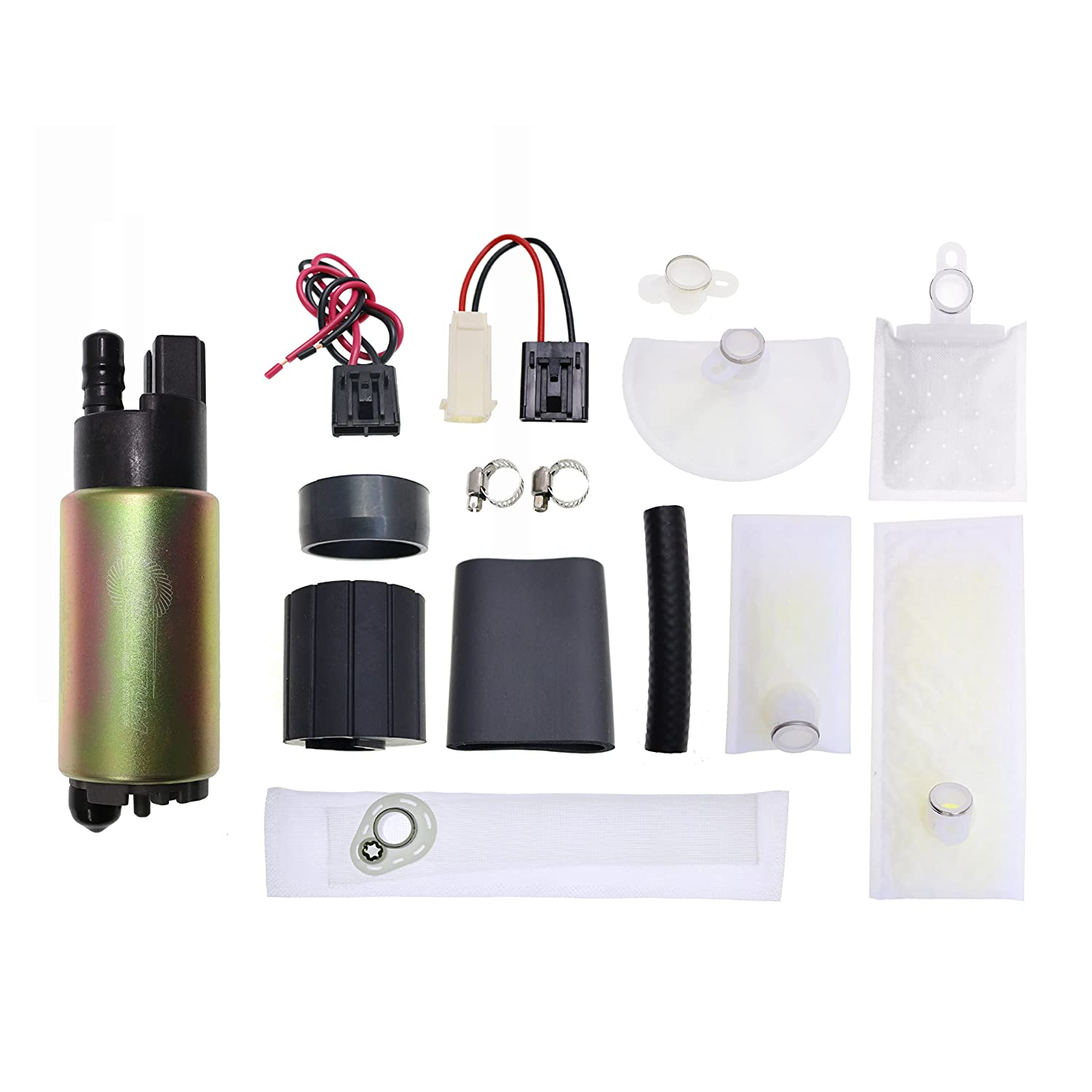 HFP-382 Replacement Fuel Pump with Strainer and Installation Kit High Flow Fuel Systems