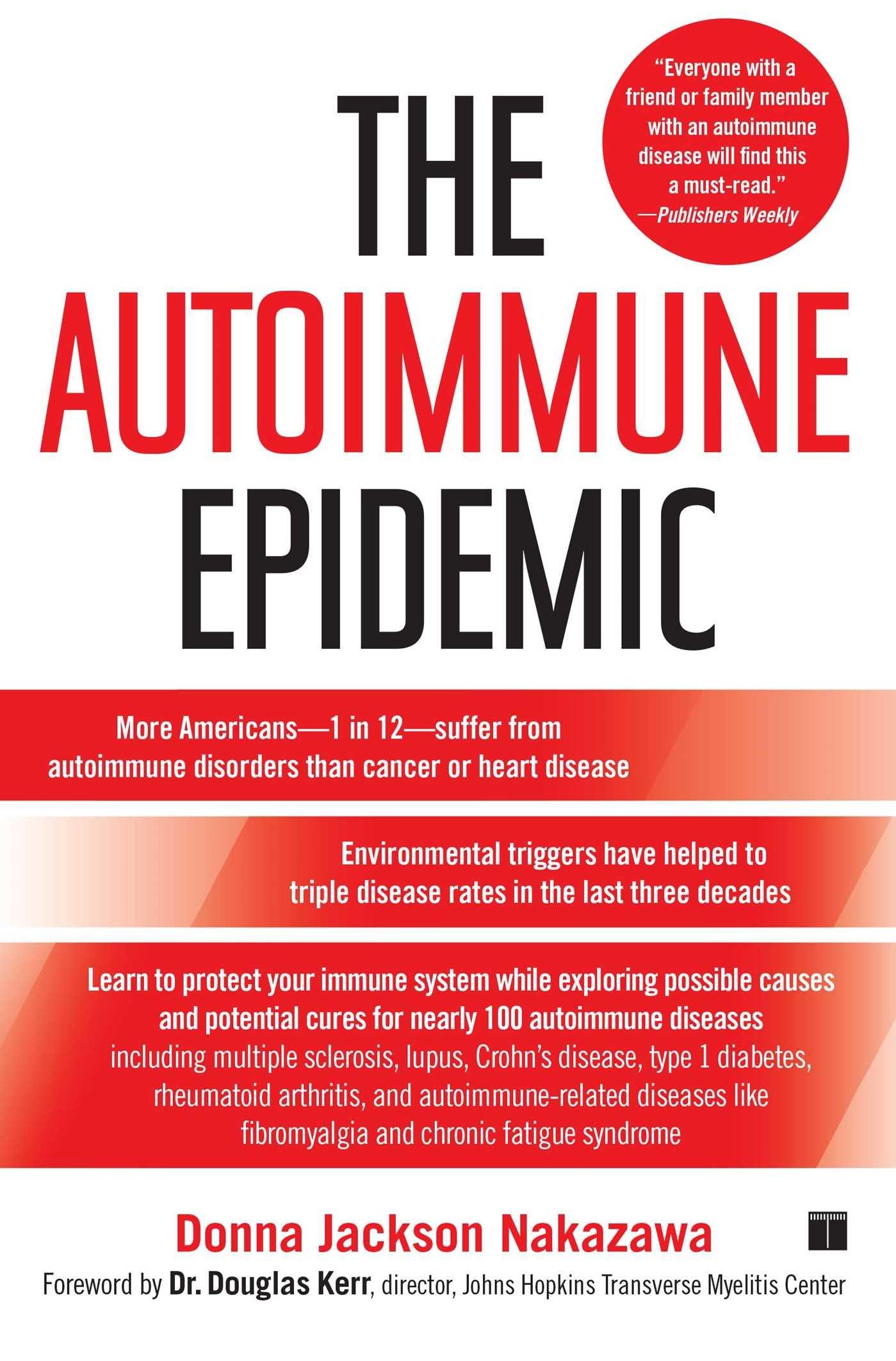 Autoimmune Epidemic Donna Jackson Nakazawa product image