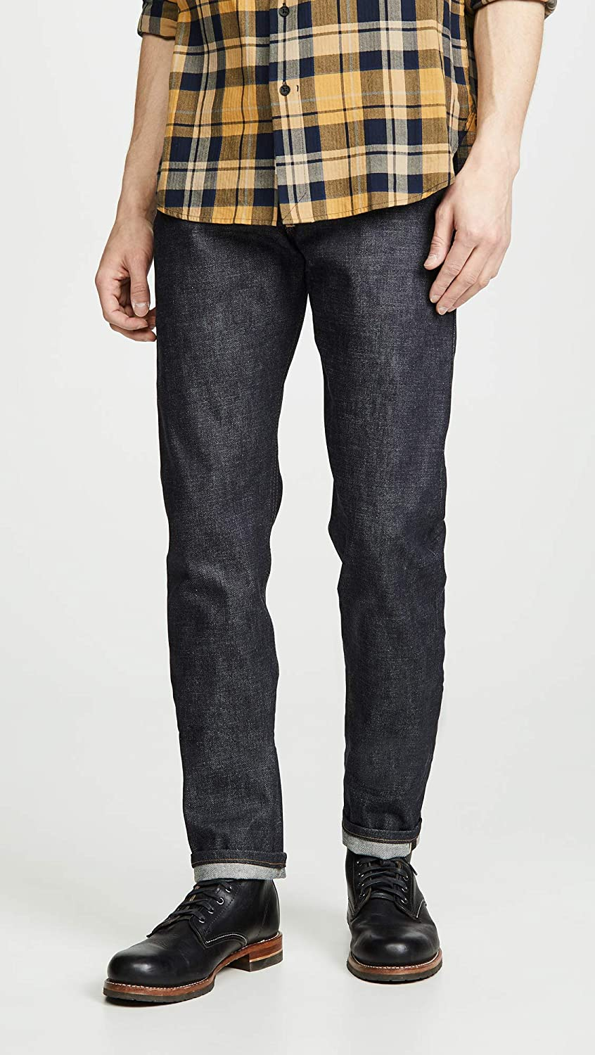 Naked /& Famous Mens Earth Pig Weird Guy Jeans