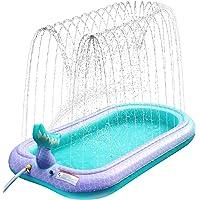 Ancesfun Sprinkler Pad Splash Play Mat, Sprinklers Pool Pad Water Speelgoed voor Kids Outdoor Familie Party Zomer Tuin…
