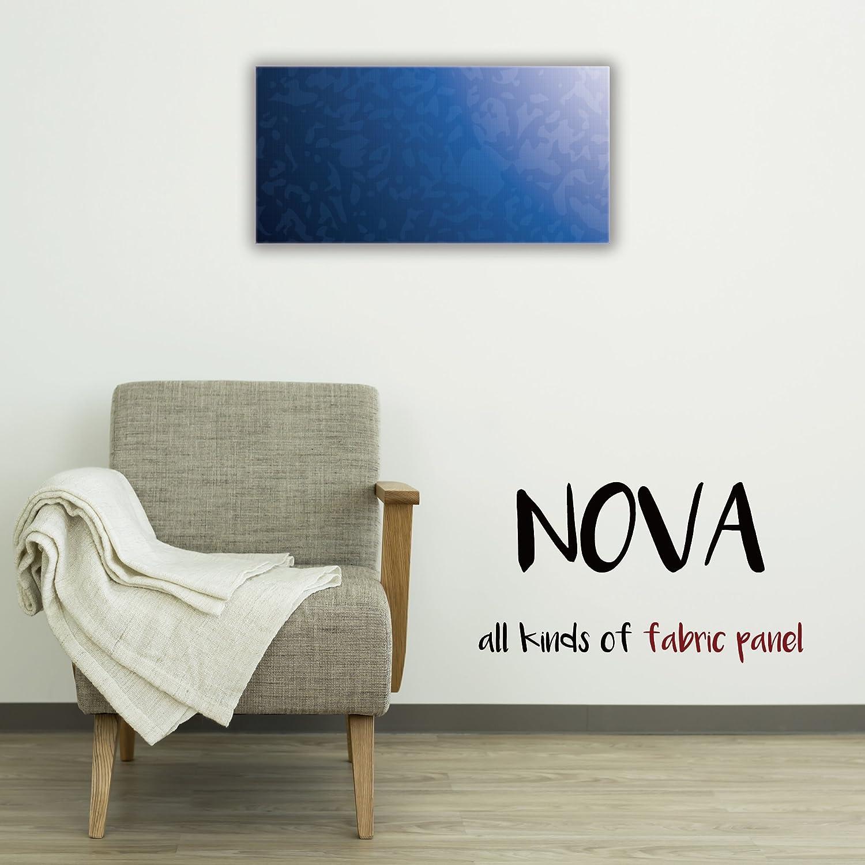 ファブリックパネル NOVA 【 L-Sサイズ 30cm×60cm 】 海 ブルー sea 青い 青色 深海 水 ウォーター 空 雲 フレーム 人気 壁掛け DIY インテリア オシャレ 木製 布 生地 プリント ウォール デコ B01NAPYBJF L-Sサイズ : 30cm×60cm COLOR8 COLOR8 L-Sサイズ : 30cm×60cm