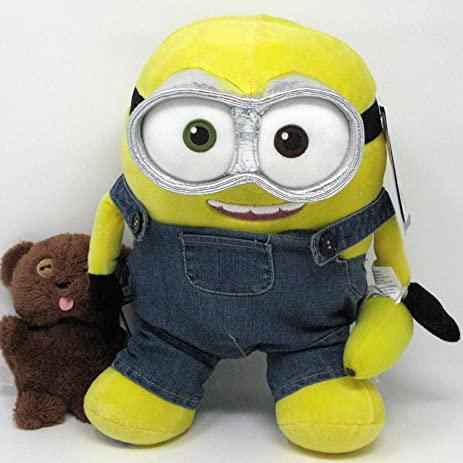 Build A Bear Minion Bob With Teddy Bear, Banana And Minion Voice Set