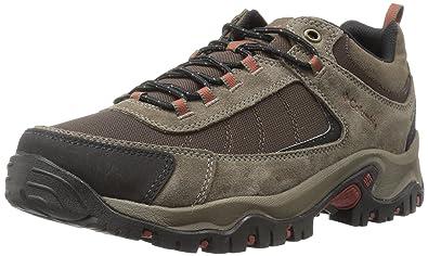 Columbia Men's Granite Ridge Waterproof Wide Hiking Shoe, Cordovan, Rusty,  ...