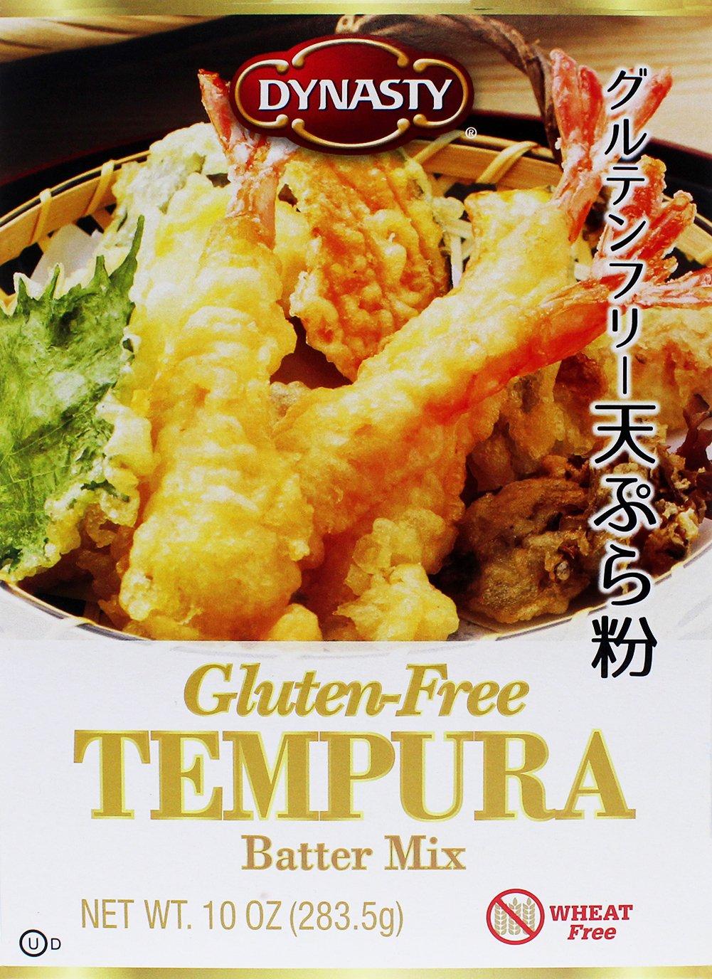 Amazon Com Dynasty Gluten Free Tempura Batter Mix 10 Ounce Grocery Gourmet Food