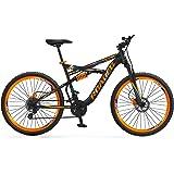 Hercules Roadeo Hannibal Gear Steel Mountain Cycle, 18inch Frame (Black, 1FG385G0050000A) 26T 21