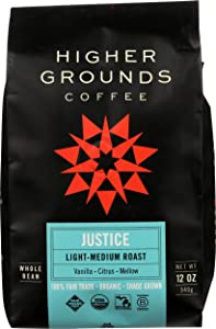 Higher Ground Roasters, Coffee Justice Blend, 12 Ounce