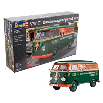 Revell of Germany 07076 VW T1 Transporter (Kastenwagen) Plastic Model Kit: Toys & Games