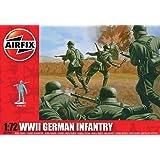 Airfix - WWII German Infantry, set de figuras (Hornby A01705)