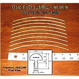 Guitar/Bass Fret Wire - Jescar Gold JUMBO Size - Six Feet