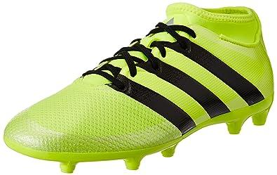 adidas ACE 16.3 FG - Chaussures de Football pour Homme, Jaune, Taille: 40 2/3