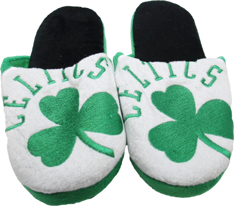 NBA Boston Celtics Men's Slippers Green (Small (7-8)) by NBA